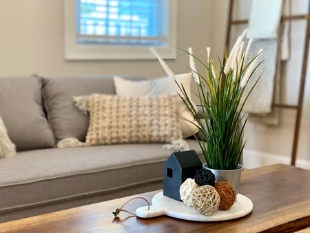 Coffee table accents Envision Redesign