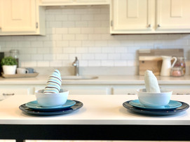 Kitchen home staging Envision Redesign Tewksbury