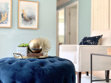 Tewksbury home staging Envision Redesign