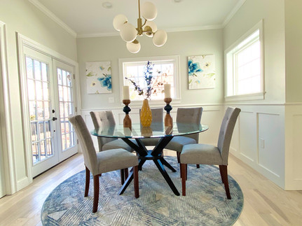 Dining Room - Staging Brookline MA