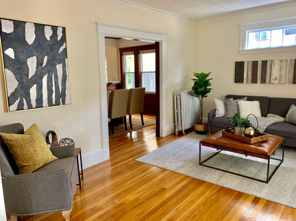 Arlington Condo home staging