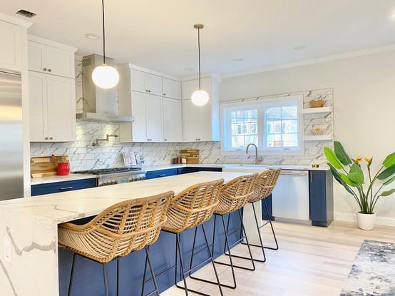 Kitchen - Brookline, MA Staging