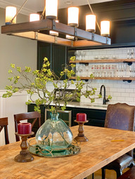 Envision Redesign: Modern Farmhouse Dining Home staging Winchester