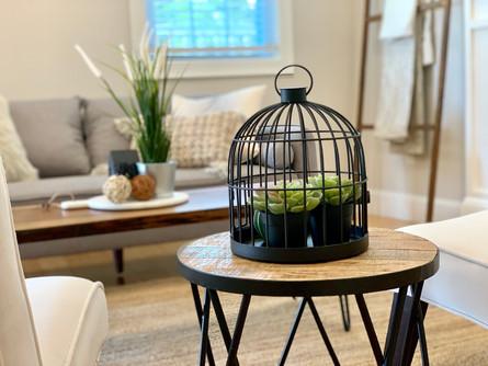Textured Home Staging details Salem MA