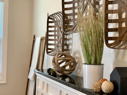 Envision Redesign: Fireplace staging Salem