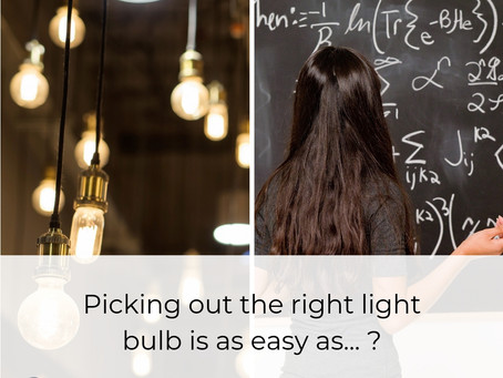 How to find the right light bulb