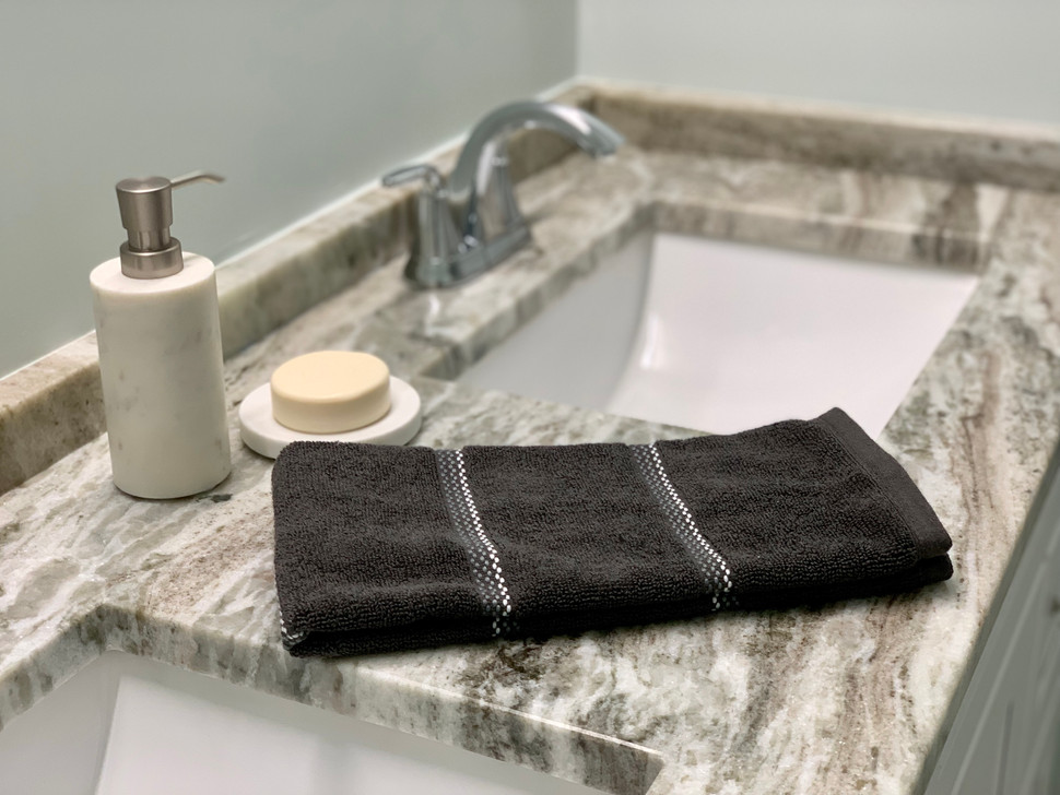 Bathroom accessories staging Wakefield MA