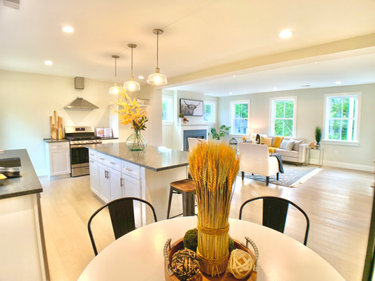 Open concept home stager Haverhill Boston
