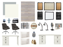 Home Office Design Board