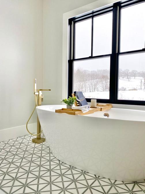Luxury bathroom Groton MA