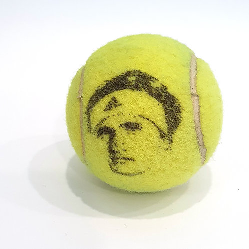 Alexander Zverev Tennisballselfie