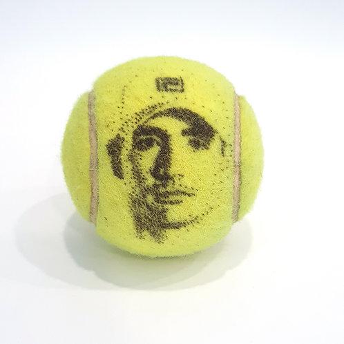 John Isner Tennisballselfie