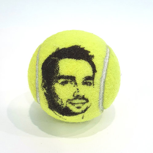Fabio Fognini Tennisballselfie