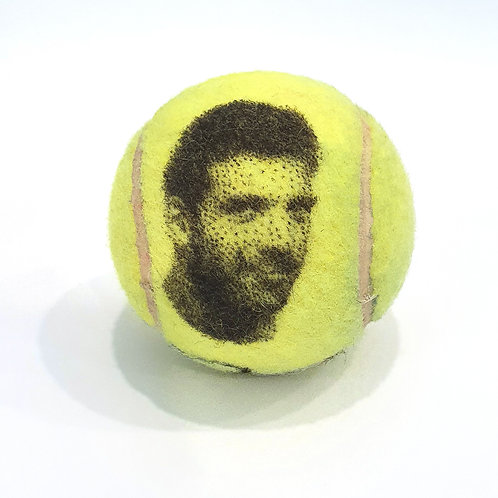 Juan Martín del Potro Tennisballselfie