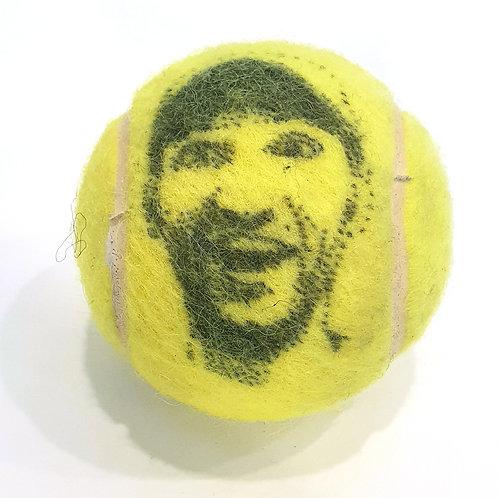 Misel Tennisballselfie