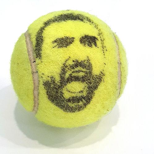 Marin Čilić Tennisballselfie