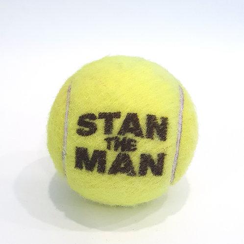 Stan the Man Tennisballselfie