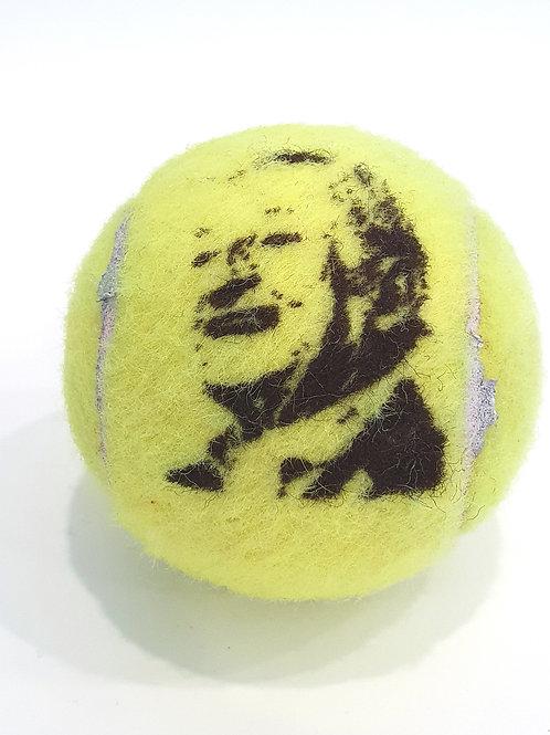 Rod Laver Tennisballselfie