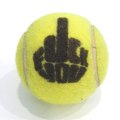 Fuck You Tennisballselfie