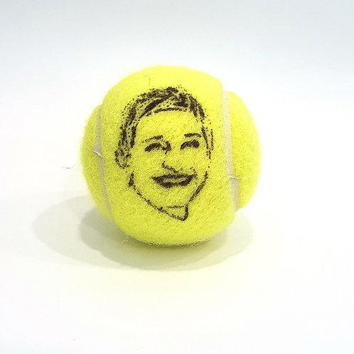 Ellen DeGeneres Tennisballselfie