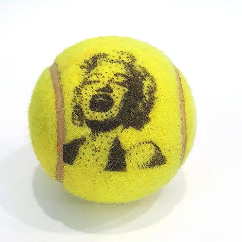 Madonna Tennisballselfie