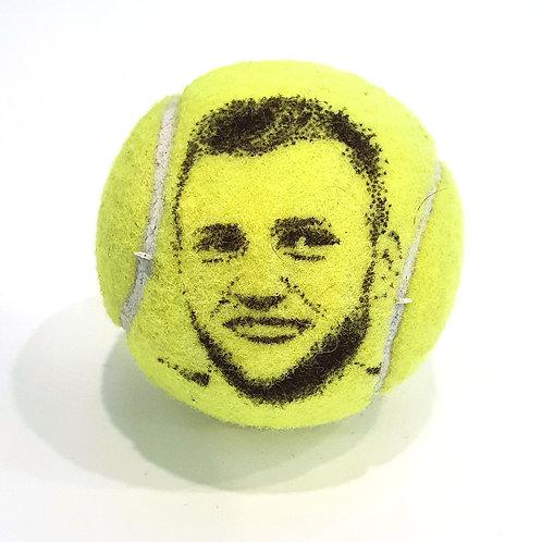 Jack Sock Tennsiballselfie