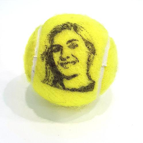 Angelique Kerber Tennisballselfie