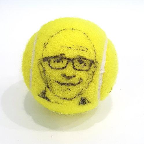 Matthias Stach Tennisballselfie