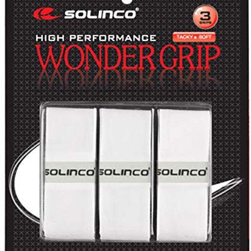 Solinco Wonder Grip 3er Pack - Weiß