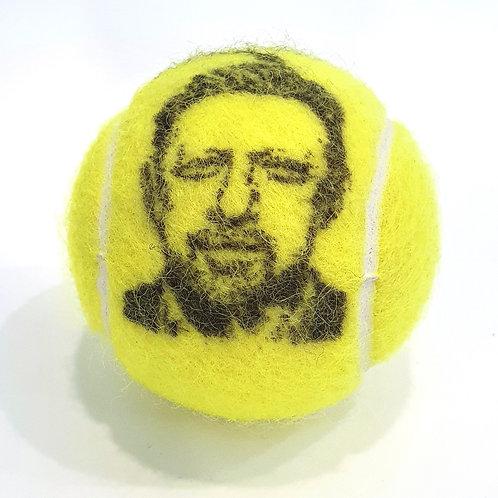 Boris Becker Tennisballselfie