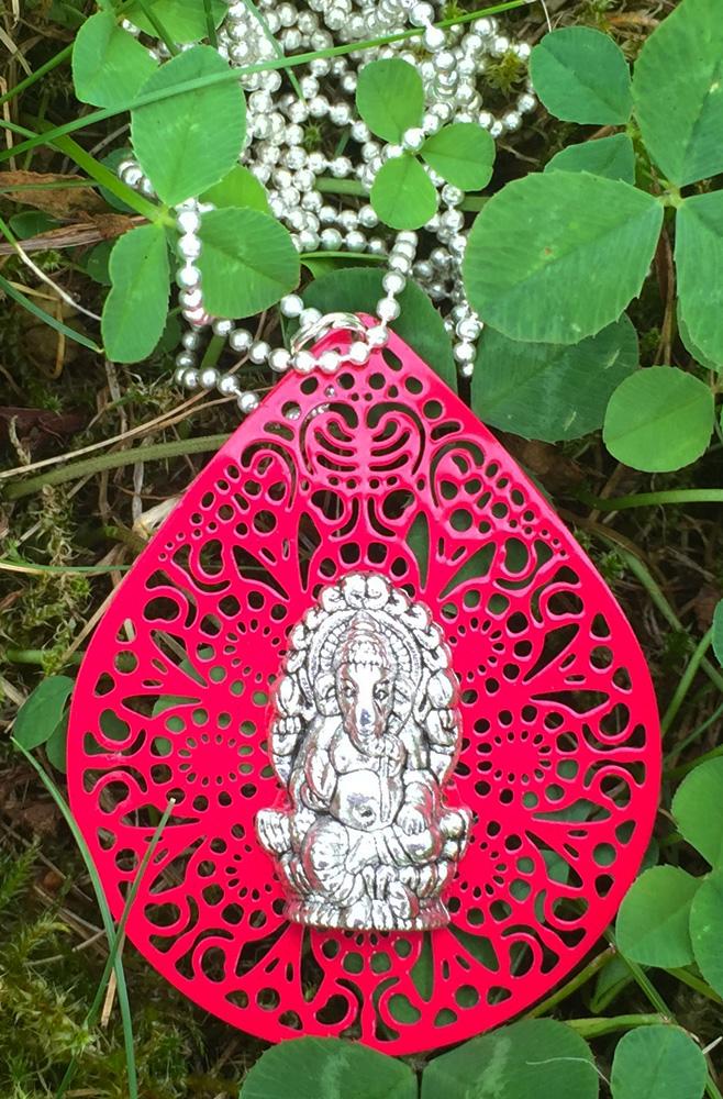 Mandala Medallion GANESHA ROOT