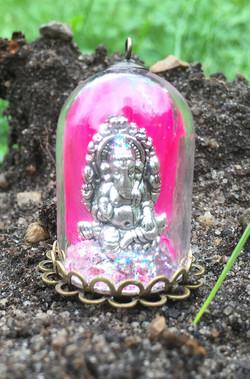 """Mini Altar """"Ganesha"""" pink"""