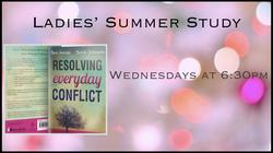 Ladies' Summer Study