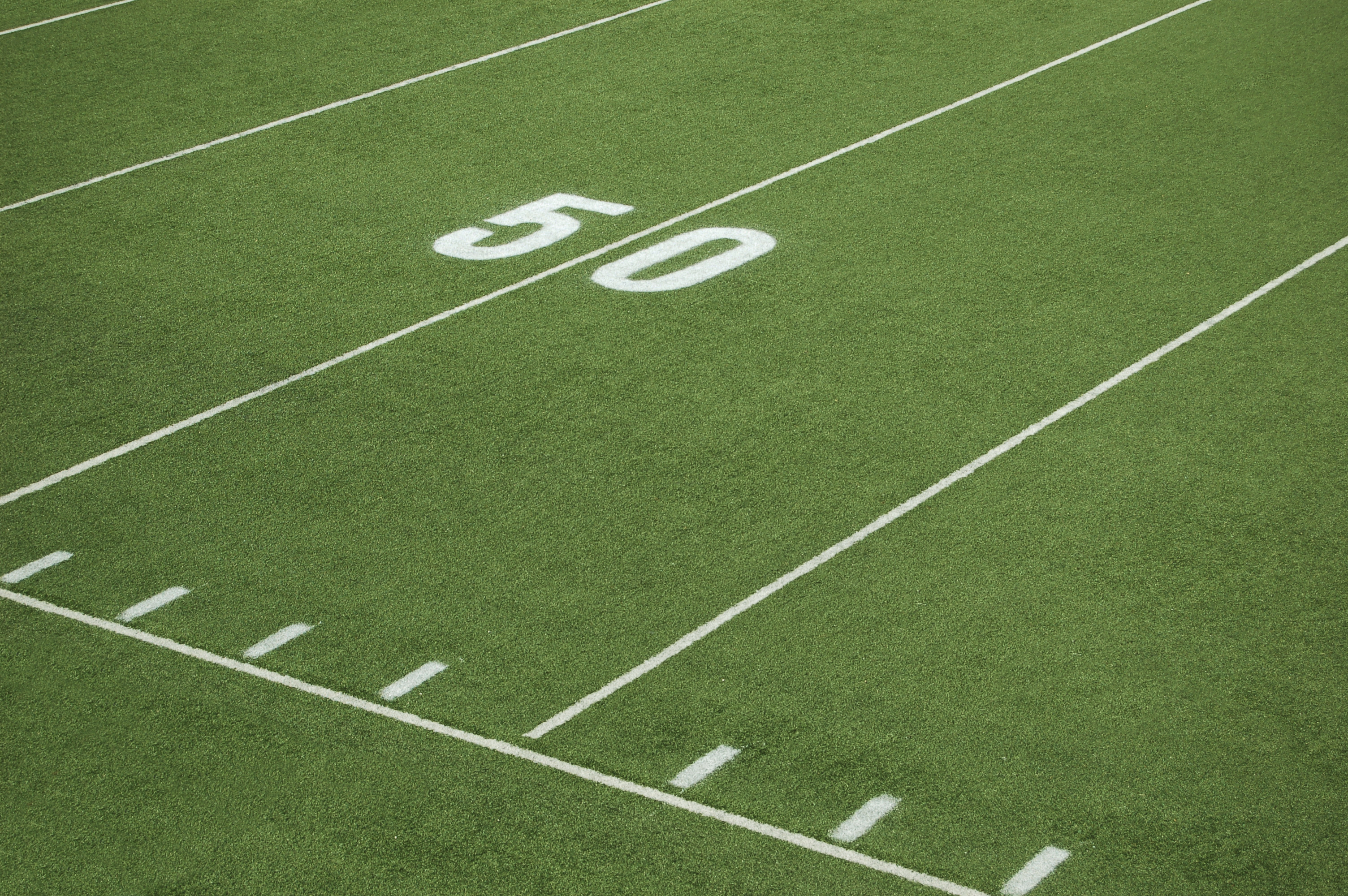 Stadium Turf - 50 Yard Line Distance