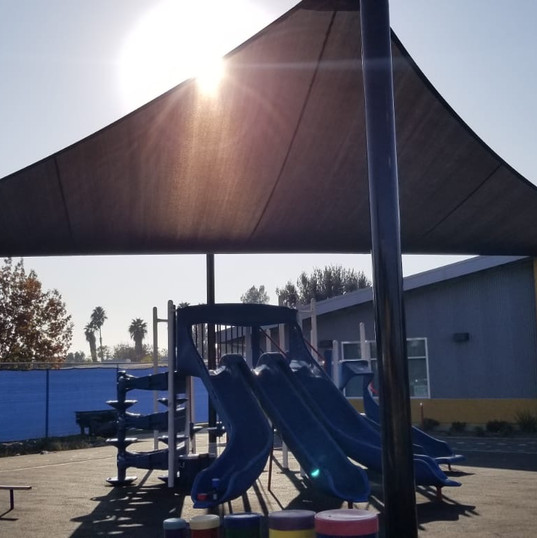 Shade Unit with Playground