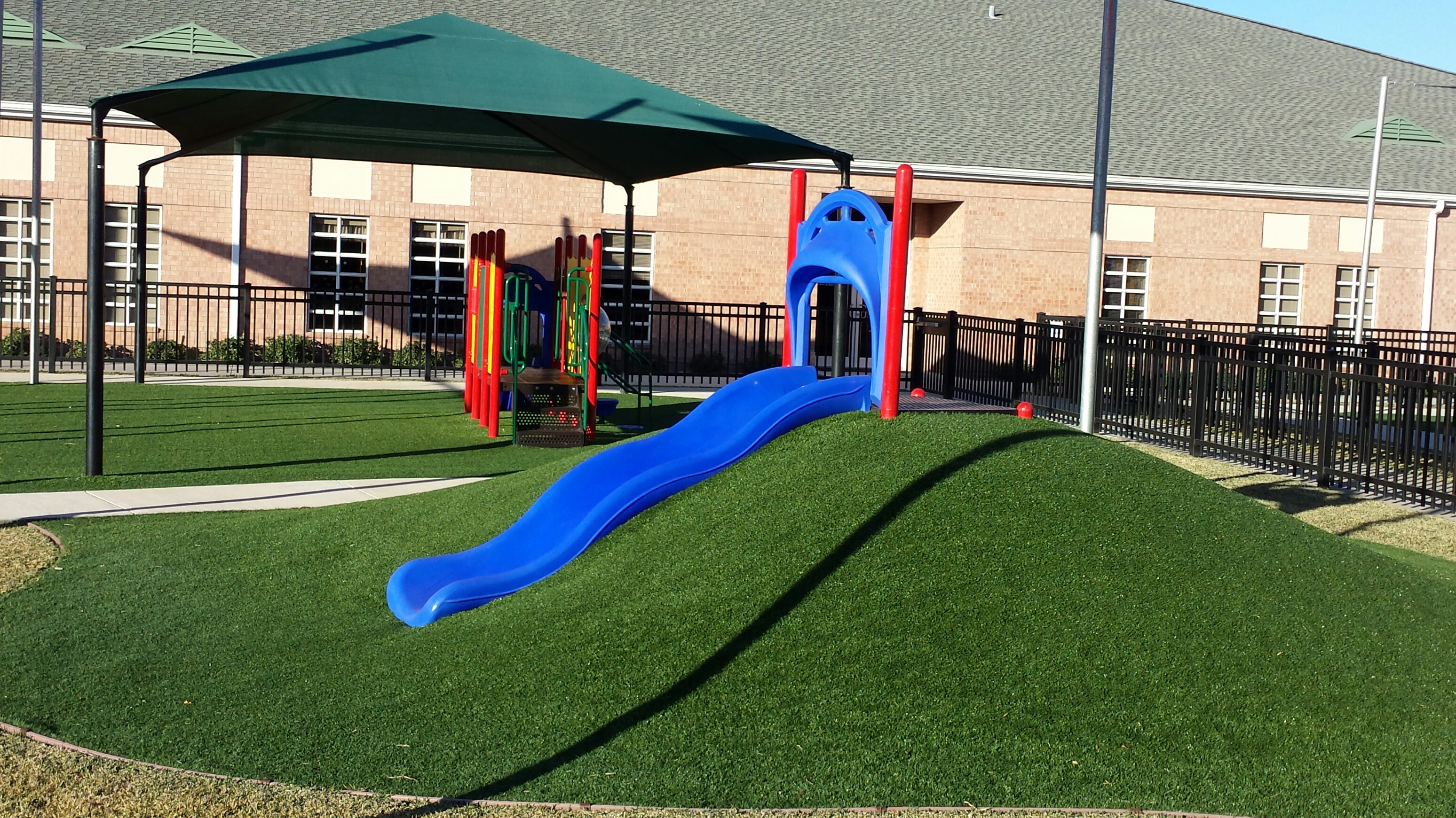 Artificial Turf Playground