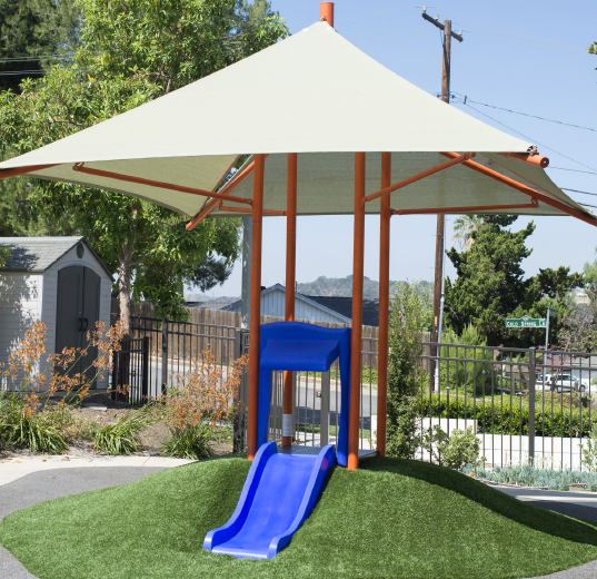 Integrated Shade and Slide