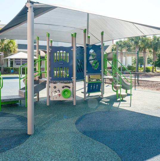 Playground and Shade Unit