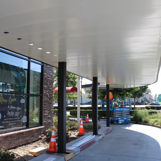Chic-Fil-A Shade Structure