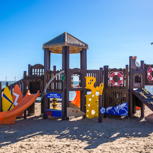Beach Play Structure