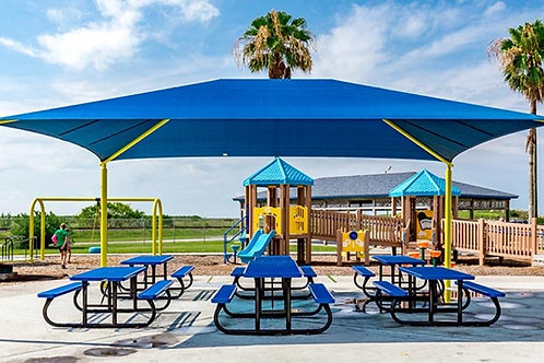 10' x 15' Rectangle Hip End Shade Structure