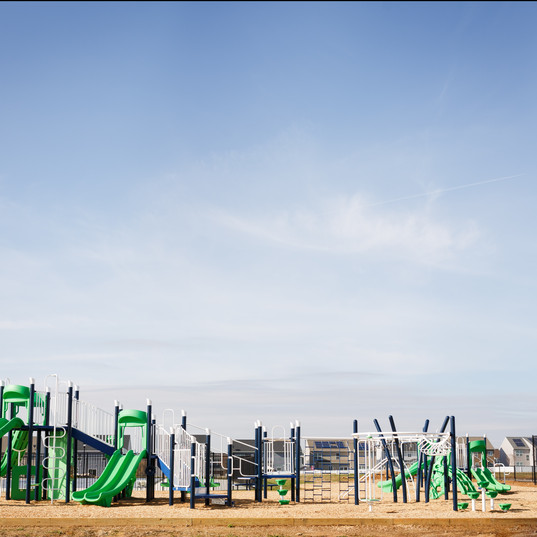 Playground Structures at the Park
