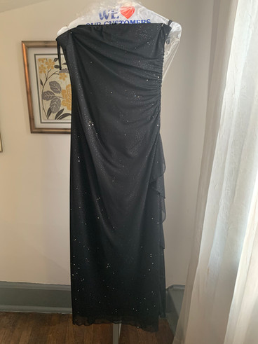 Black with Mirrored Sequins