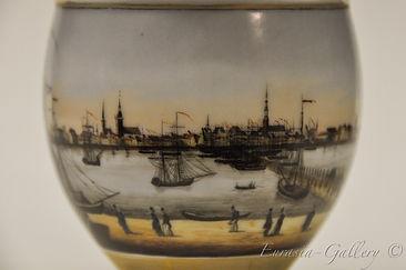 Чашка «Вид старой Риги с набережной»