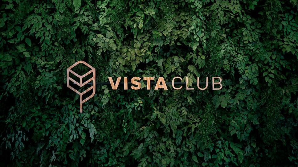 folhas-verdes, vista-club, logotipo