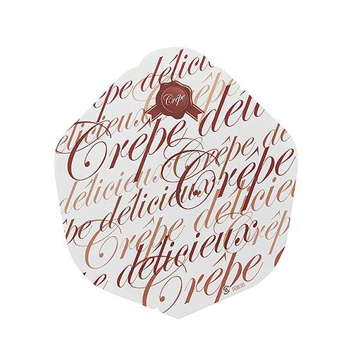 クレープ包装紙(チョコレート)