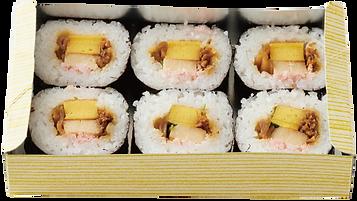 太巻き寿司6個