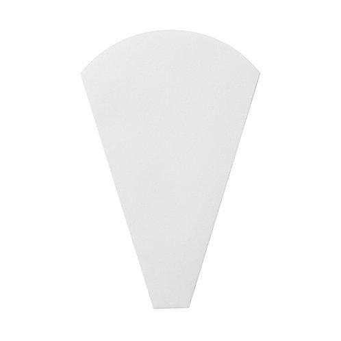 三角袋(白無地)