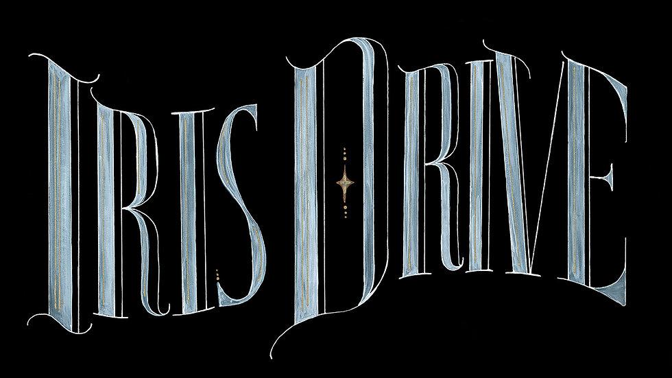 Iris Drive Sticker - Logo