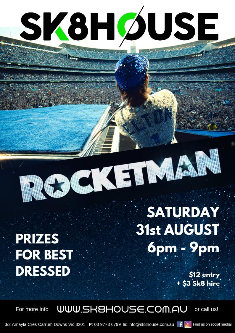 ROCKETMAN FLYER - AUG 31 2019